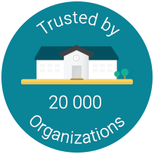 Trusted by 20 000 organizations worldwide